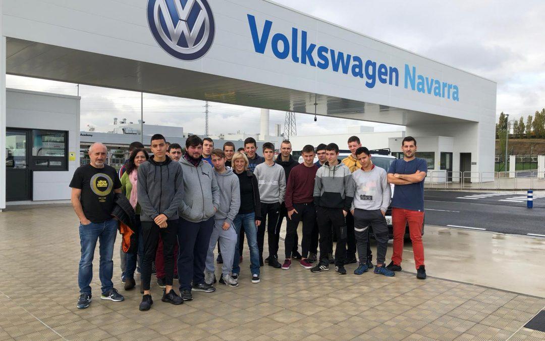 Visita a Volkswagen Pamplona